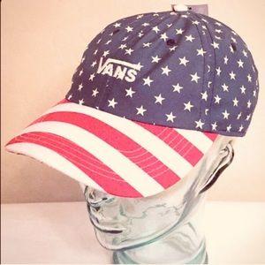 ONLY 1! Vans Patriotic Stars & Stripes Cap